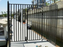 Long Beach Marina - Gate near Yard House